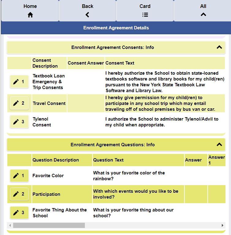Screenshots Infograsp School Management Software